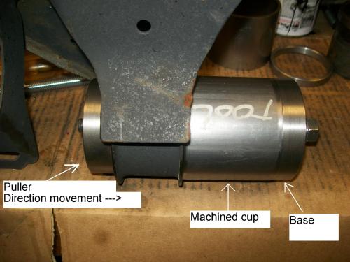 Mis Bmw E46 Differential Rear Bushing Tool Mis Tools